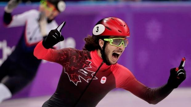 Girard wins 500-metre short-track gold