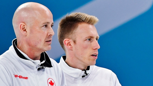 Canadian men in battle for their Olympic curling lives article image