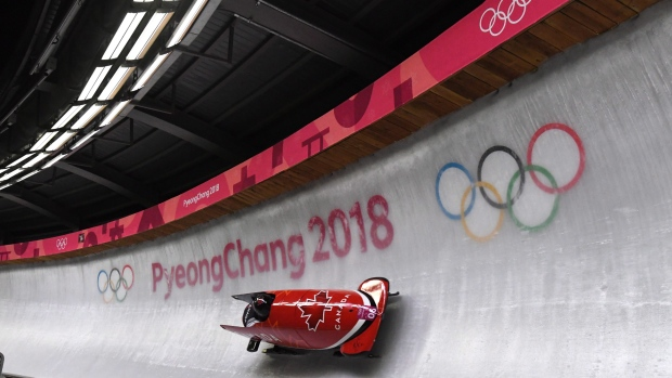 Winter Olympics 2018: Bobsleigh OVERTURNS in dramatic crash