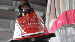 Kaillie Humphries 5th after opening 2 runs of women's bobsleigh article image