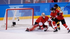 Germany eliminates Switzerland in men's hockey, will face Sweden in quarter-finals article image