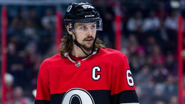 Senators captain Erik Karlsson to miss Tuesday game against Panthers