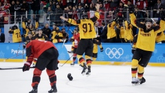 Germany celebrates win over Canada