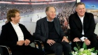 Jerry Bruckheimer, David Bonderman and Tim Leiweke
