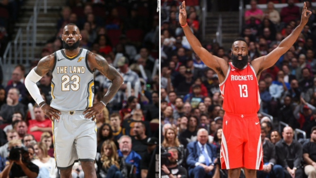 buy popular a7295 867c2 Who did it better: Harden or LeBron? - TSN.ca