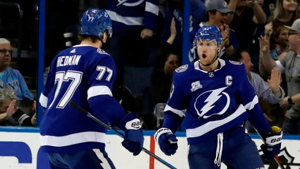 Point lifts Lightning over Panthers in OT
