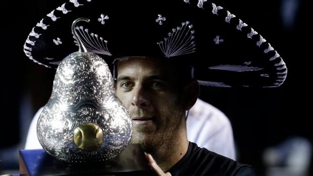 Del Potro reaches the semifinals in Mexico