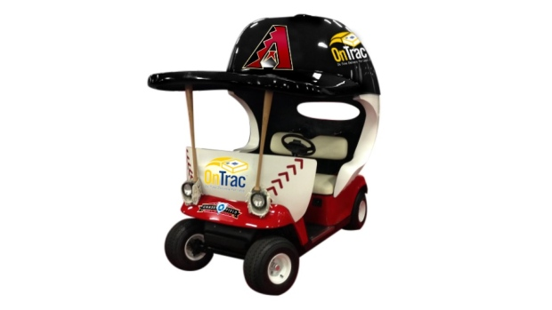 Golf cart to bring in relief pitchers is reborn with Diamondbacks