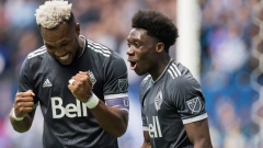 Alphonso Davies Kendall Waston