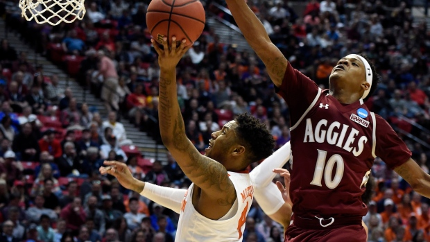 Clemson to play New Mexico St. in first round of NCAA tourney