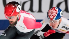 Canadian Charles Hamelin win's 1,500-metre event at short-track world event Article Image 0