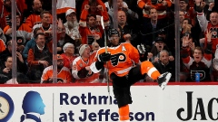 Wayne Simmonds celebrates