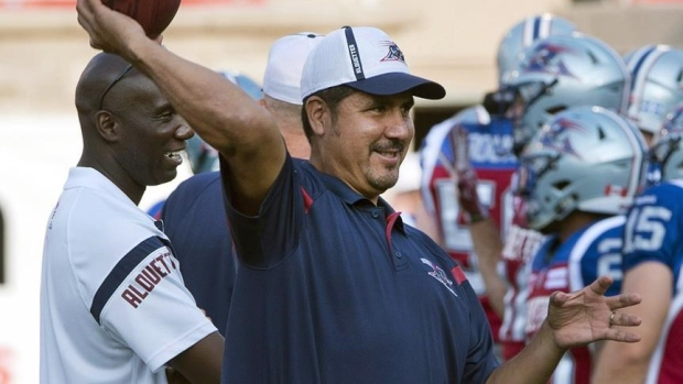 Calvillo among new faces on Toronto head coach Marc Trestman's staff Article Image 0