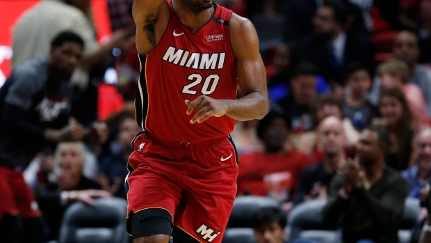 Miami Heat forward Justise Winslow