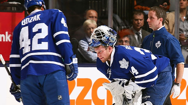 Tyler Bozak and James Reimer