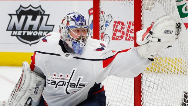 Capitals To Start Grubauer In Goal Against Blue Jackets