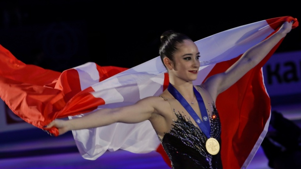 Canada's Osmond wins figure skating world title