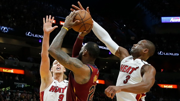 LeBron James doesn't know if Dwyane Wade will be back next season