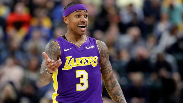 Isaiah has surgery, out 4 months, Lakers say