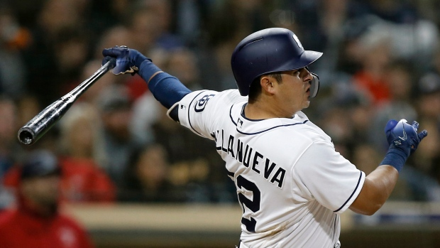 Villanueva hits three homers, Padres get 1st win - TSN.ca