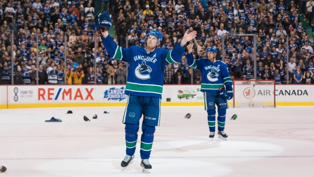 Henrik Sets Up Daniel For OT Winner In Sedins' Vancouver Farewell