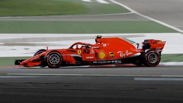 F1: Ferrari's Sebastian Vettel clinches tense Bahrain GP
