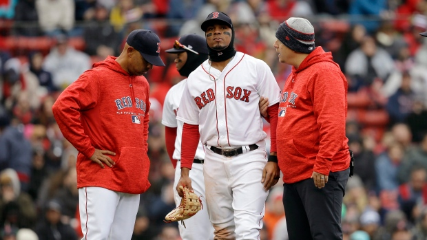 Xander Bogaerts placed on DL after tests reveal crack in ankle