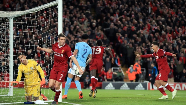 6a27c4b213e City heads to Anfield with score to settle against Liverpool - TSN.ca