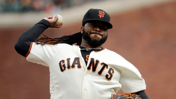 Giants place Johnny Cueto on the DL with elbow inflammation