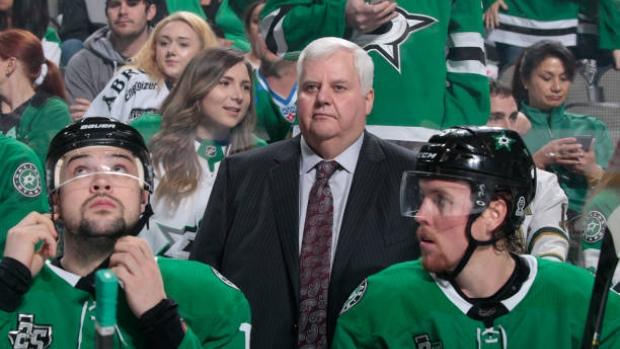 Stars coach Hitchcock, 3rd in wins, retiring after 22 years