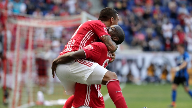 Kaku and Bradley Wright-Phillips
