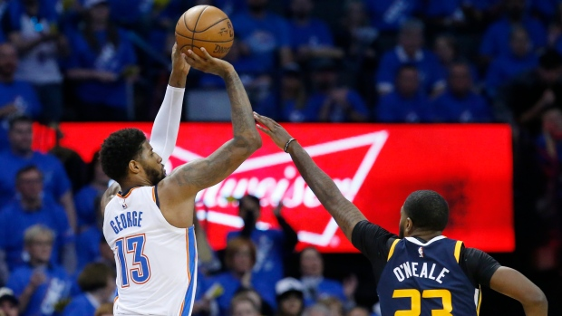 Paul George Gets BUCKETS As The Thunder Take Game 1