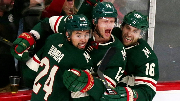 Eric Staal Jason Zucker Matt Dumba