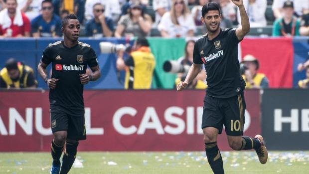 Vela's PK leads LAFC past 10-man Impact - TSN ca