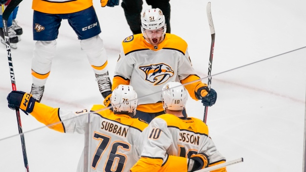 Jets to face the Nashville Predators in round 2 of playoffs