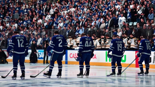 Maple Leafs stand behind those affected by tragic incident in Toronto