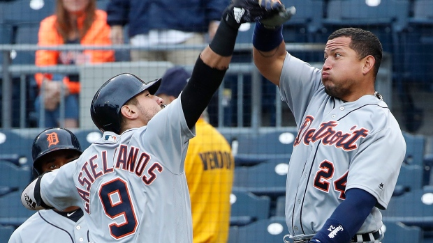 Red hot castellanos powers tigers over pirates article tsn for Mitchell s fish market pittsburgh