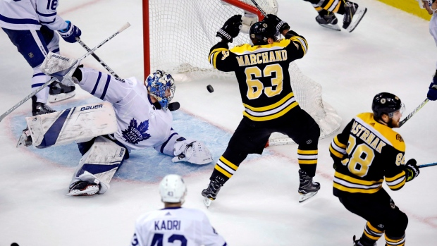Bruins eliminate Maple Leafs with wild Game 7 win - TSN.ca f9f9afc41