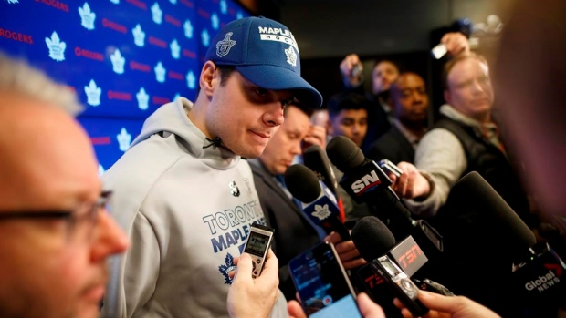 Article: Leafs' Matthews moves to Orr Agency