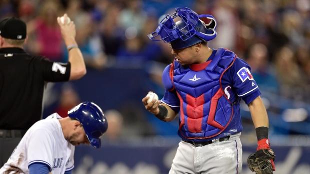 release date: de1c1 a98c2 Stroman hit early as Jays fall to Rangers - TSN.ca