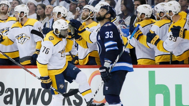 Jets' Missed Opportunity Has Preds In Driver's Seat For First Time