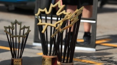 Canadian Grand Prix trophies