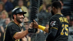 Francisco Cervelli and Gregory Polanco