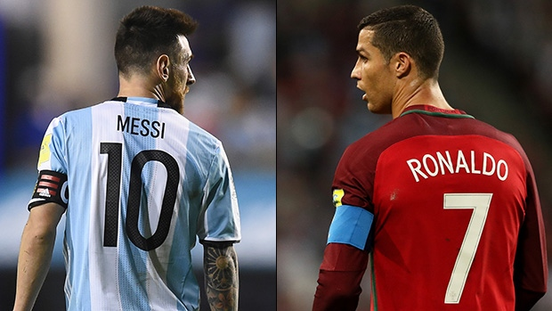 wholesale dealer 721e6 c22ea Will Messi or Ronaldo finally conquer the World in Russia ...