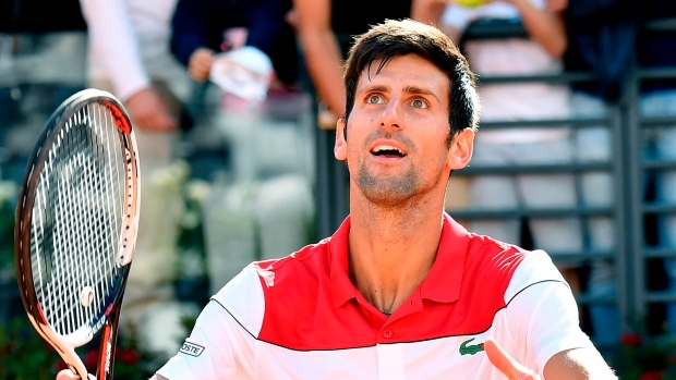 Novak Djokovic gets off to winning start in Italian Open""