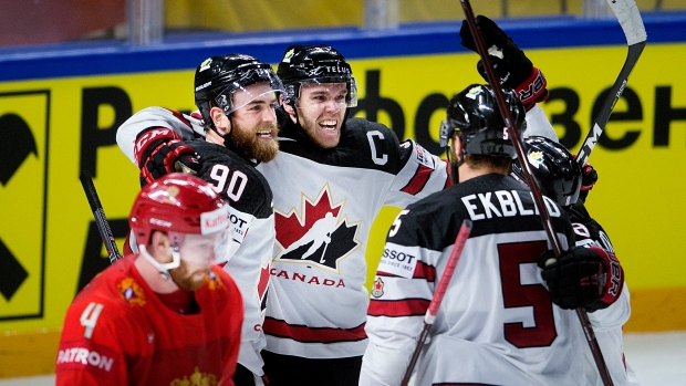 Worlds: O'Reilly The Hero In OT As Canada Beats Russia To Advance