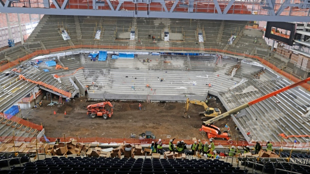 New Armstrong Stadium for US Open