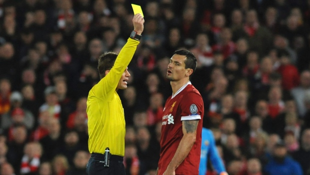 Liverpool defender Lovren banned over social media outburst