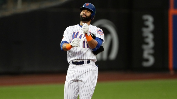 reputable site 11bc6 b4717 Smith, Marlins top Mets in Bautista debut - TSN.ca