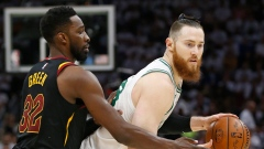 Jeff Green and Aron Baynes